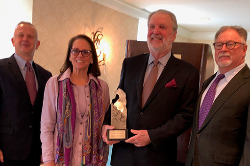 Congratulations James R. Royer, PE (TC&B, AECOM)! This year's recipient of the Lifetime Achievement Award at the TX #AE Industry Conference