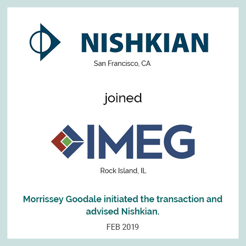 Nishkian joined IMEG