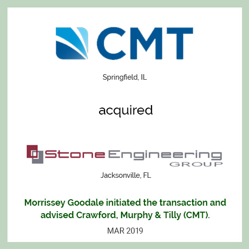 CMT acquired Stone Engineering Group