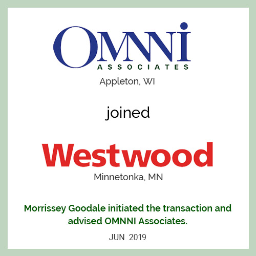 OMNNI Associates joined Westwood