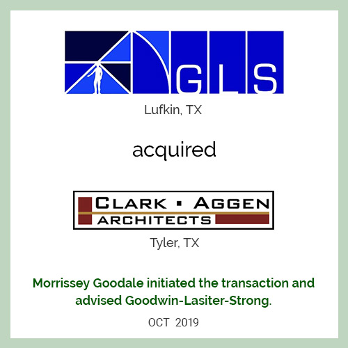 GLS acquired Clark Aggen Architects