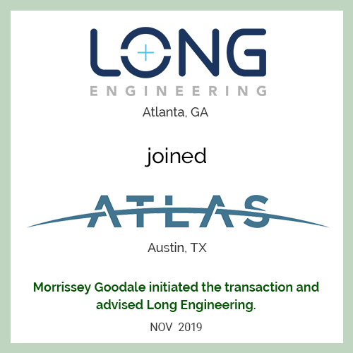 Long Engineering joined Atlas Technical Consultants