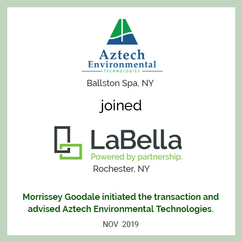 Aztech Environmental Technologies joined LaBella