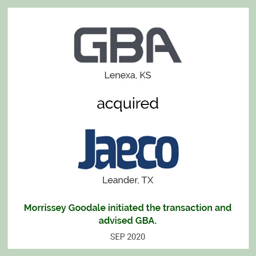 George Butler Associates acquired Jay Engineering Company
