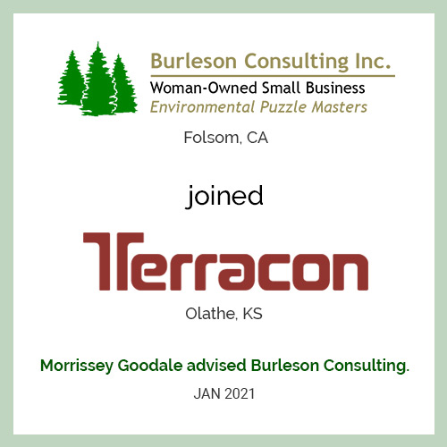 Burleson Consulting Joined Terracon