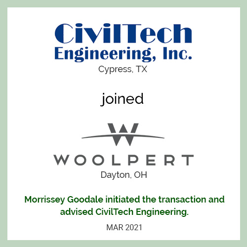 CivilTech Engineering Joined Woolpert