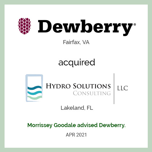 Hydro Solutions Consulting, LLC Joins Dewberry
