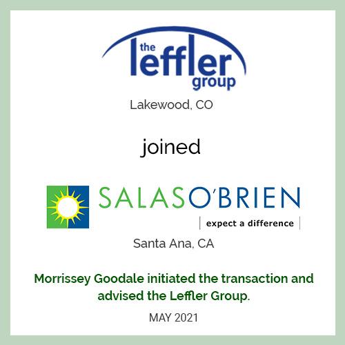 The Leffler Group Joins Salas O'Brien