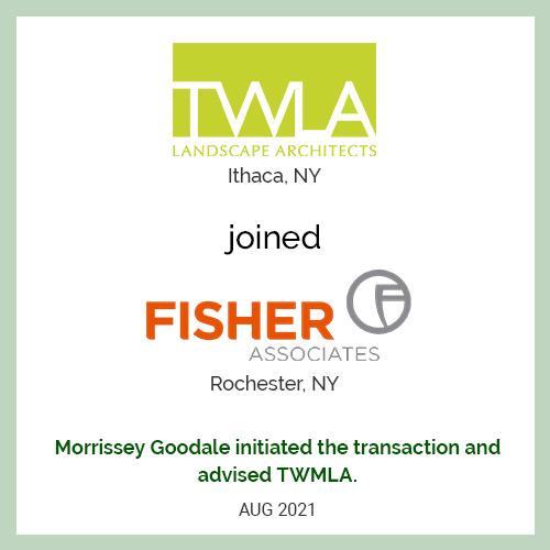 TWM Landscape Architects Joins Fisher Associates