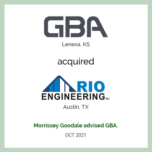GBA Acquires Rio Engineering